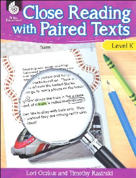 Close Reading With Paired Texts Level K