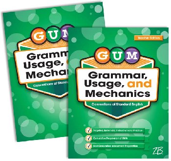 Zaner-Bloser GUM: Grade 5 Home School Bundle - Student Edition/Teacher Edition