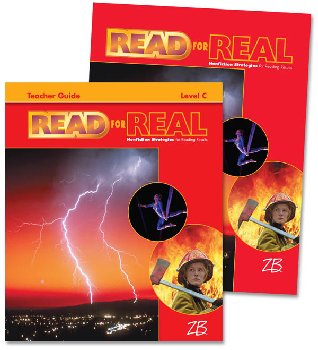 Zaner-Bloser Read for Real Level C Home School Bundle - Student Edition/Teacher Edition
