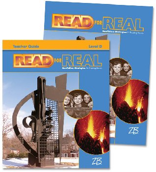 Zaner-Bloser Read for Real Level D Home School Bundle - Student Edition/Teacher Edition