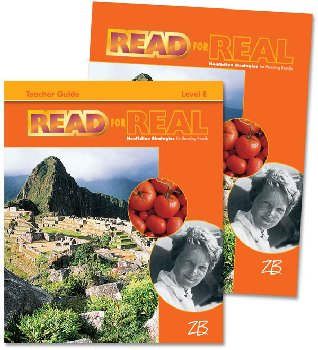 Zaner-Bloser Read for Real Level E Home School Bundle - Student Edition/Teacher Edition