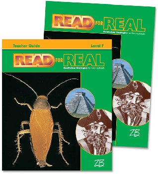 Zaner-Bloser Read for Real Level F Home School Bundle - Student Edition/Teacher Edition
