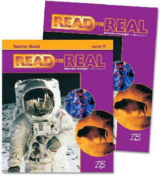 Zaner-Bloser Read for Real Level H Home School Bundle - Student Edition/Teacher Edition