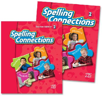 Zaner-Bloser Spelling Connections Grade 2 Home School Bundle -Student Edition/Teacher Edition (2012 edition)