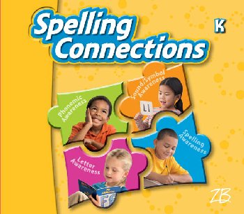 Zaner-Bloser Spelling Connections Grade K Student Edition (2012 edition)