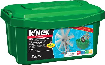 K'Nex Exploring Wind & Water Energy (288 Pieces)