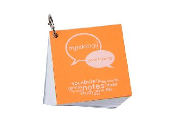 Study Cards Ringed - Note Size (White)