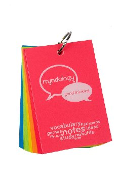 Study Cards Ringed - Large (Bright Colors)