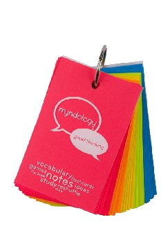 Study Cards Ringed - Medium (Bright Colors)