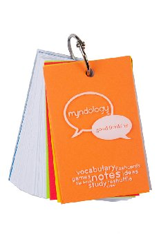 Study Cards Ringed - Medium (White)