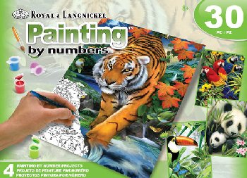Painting By Number (Art Activity Set) Jungle
