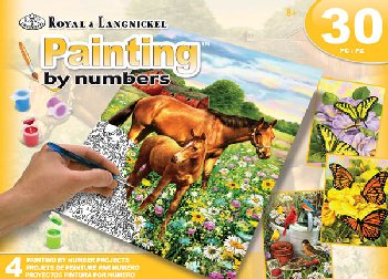 Painting By Number (Art Activity Set) Country