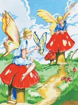 Painting By Numbers - Flower Fairies (Junior Small)