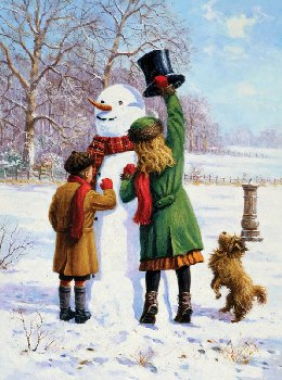 Painting By Numbers - Winter Wonderland (Junior Small)