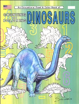 Counting Dinosaurs: (Early Learning Workbook)