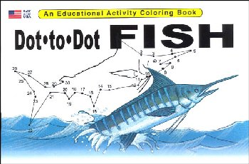 Dot-to-Dot Fish Activity Book