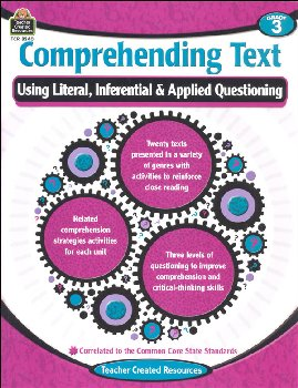 Comprehending Text Grade 3