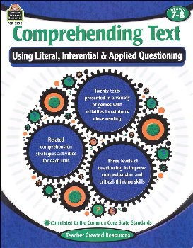 Comprehending Text Grades 7-8