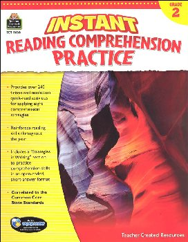 Instant Reading Comprehension Practice - Gr.2