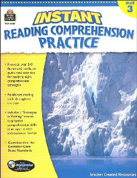 Instant Reading Comprehension Practice - Gr.3