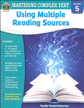 Using Multiple Reading Sources Grade 5