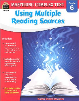 Using Multiple Reading Sources Grade 6