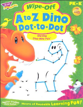 Wipe-Off A to Z Dino Dot-to-Dot