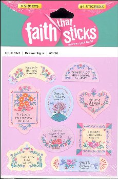 Psalms Signs Stickers (Faith That Sticks)