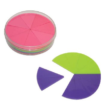 Fraction Circles (61 piece set, includes tenths)