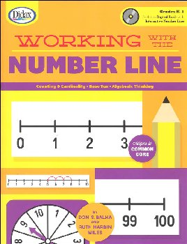 Working with the Number Line Book & CD