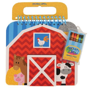 Farm Shaped Sketch Pad