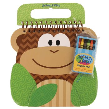 Monkey Shaped Sketch Pad