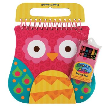 Owl Shaped Sketch Pad