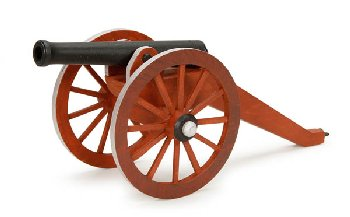 Cannon Premium Wood Model Kit
