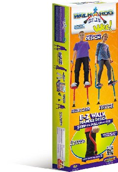 Walkaroo Wee Stilts (Red or Blue)