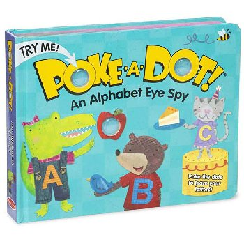 Poke-A-Dot! An Alphabet Eye Spy