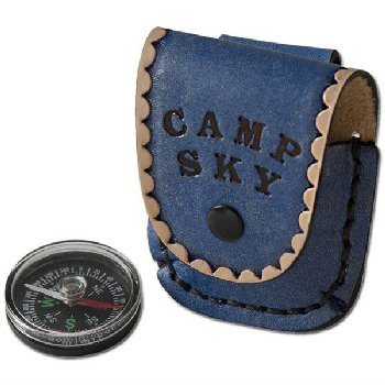 LeatherCraft Kit: Compass & Case