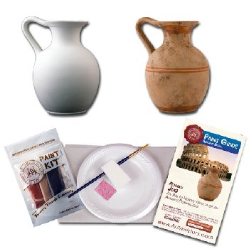 Ancient Rome - Roman Jug (Hands on History Pottery Kit)