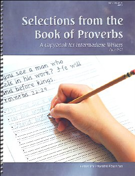 Selections from the Book of Proverbs - Book 3 (Scripture-Based Copybooks)