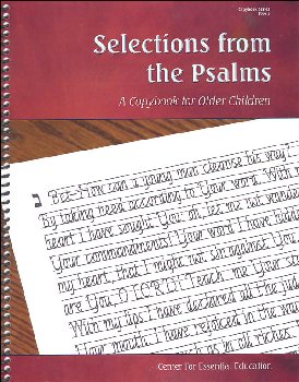 Selections from the Psalms - Book 5 (Scripture-Based Copybooks)