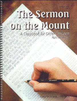 Sermon on the Mount - Book 4 (Scripture-Based Copybooks)