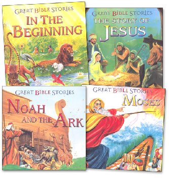 Great Bible Stories Set of 4