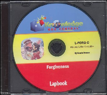 Forgiveness Lapbook CD