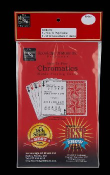 How to Play Chromatics Music Playing Cards