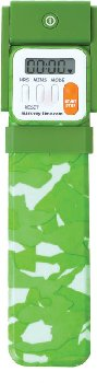 Mark-My-Time Digital Booklight Green Camouflage