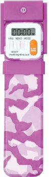 Mark-My-Time Digital Booklight Pink Camouflage