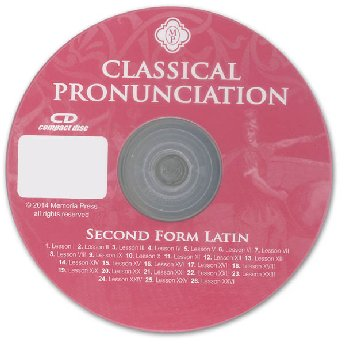 Second Form Latin Classical Pronunciation CD