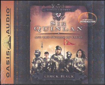 Sir Quinlan and the Swords of Valor CDs (Knights of Arrethtrae Book # 5)