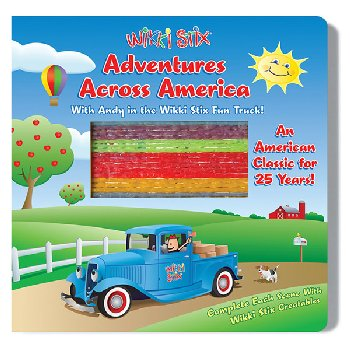 Wikki Stix Adventures Across America Board Book