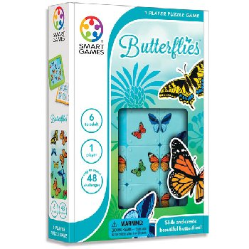 Butterflies: 48 Puzzles in 1